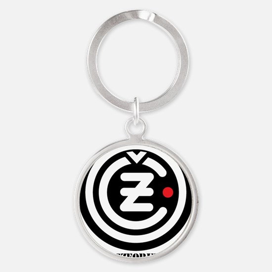 cz_logo Round Keychain
