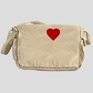 I Love Motor Boating Messenger Bag