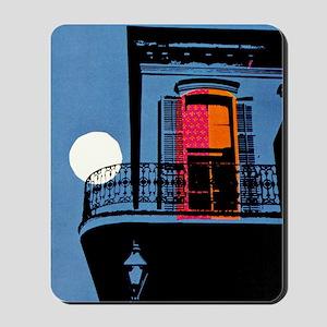Vintage New Orleans Travel Mousepad
