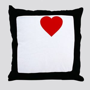 I Love Motor Boating Throw Pillow
