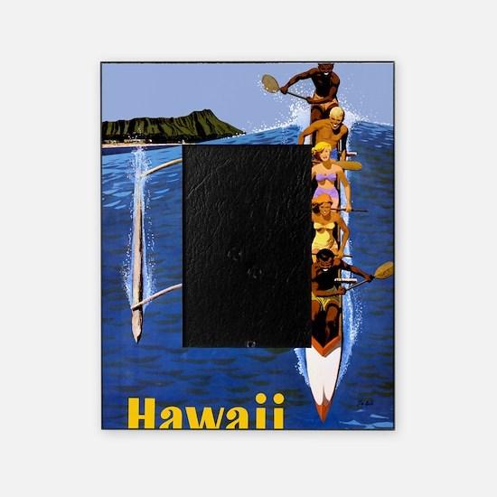 Vintage Hawaii Boat Travel Picture Frame