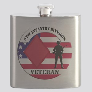 5th Infantry Division Flask