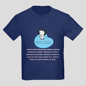 Protect Freedom Kids T Shirt (Dark)