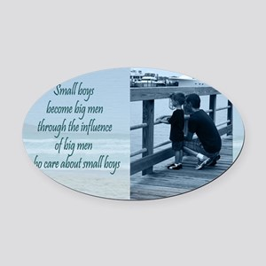 16x20_Influence Oval Car Magnet
