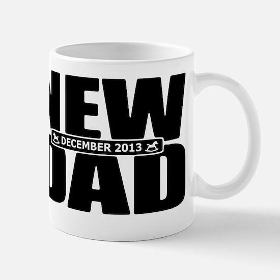 December 2013 New Dad Mug