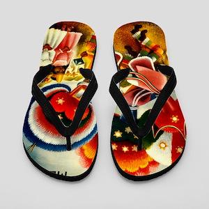 d1d518dd7a17a Vintage Oaxaca Mexico Travel Flip Flops