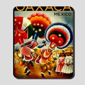 Vintage Oaxaca Mexico Travel Mousepad