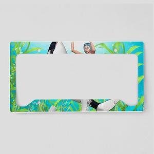 tm_Rectangular Canvas Pillow License Plate Holder