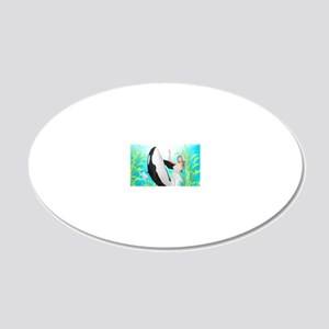 tm_Dinner Placemats_1184_H_F 20x12 Oval Wall Decal
