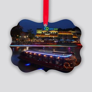 Night life ,  Clarke Quay- Singap Picture Ornament