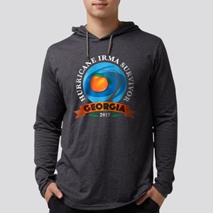 Georgia Irma Survivor Mens Hooded Shirt