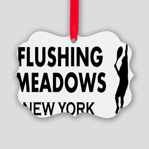 flushing meadows Picture Ornament