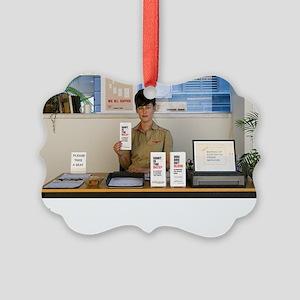 SARA SHAOUL : Bureau of Existenti Picture Ornament