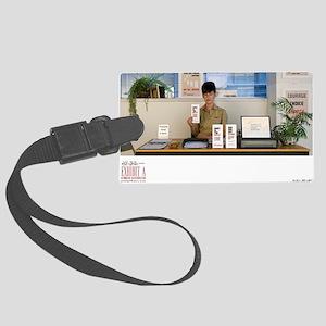 SARA SHAOUL : Bureau of Existent Large Luggage Tag