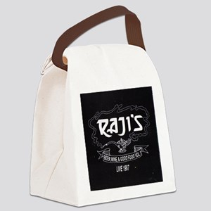 live at Rajis Canvas Lunch Bag