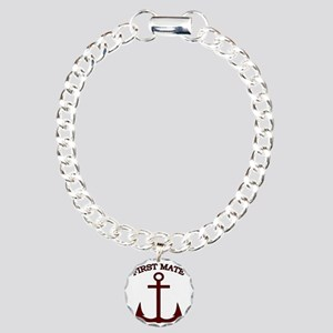 First Mate Boating Ancho Charm Bracelet, One Charm