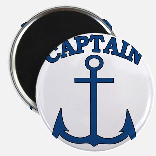 Captain Anchor Blue Magnet