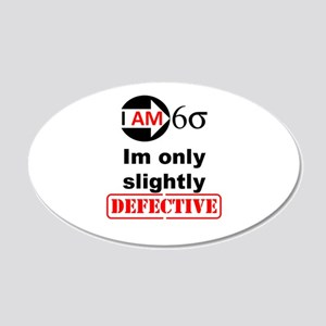 I Am Six Sigma - His (b) Wall Decal