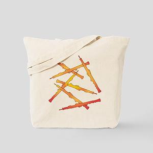 Fiery Oboes Tote Bag