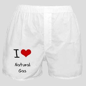 I Love Natural Gas Boxer Shorts