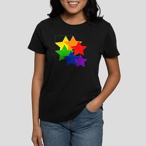 Gay Stars Vintage Women's Dark T-Shirt
