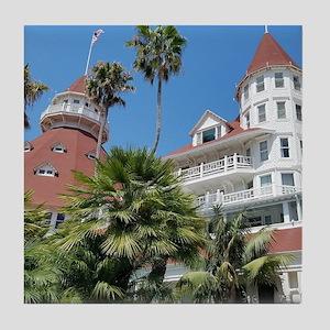 Hotel Del Coronado Tile Coaster