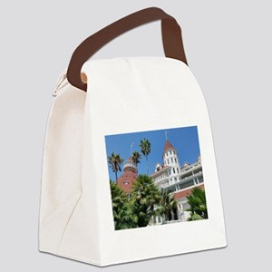 Hotel Del Coronado Canvas Lunch Bag