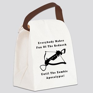 Everybody Makes Fun Of The Rednec Canvas Lunch Bag