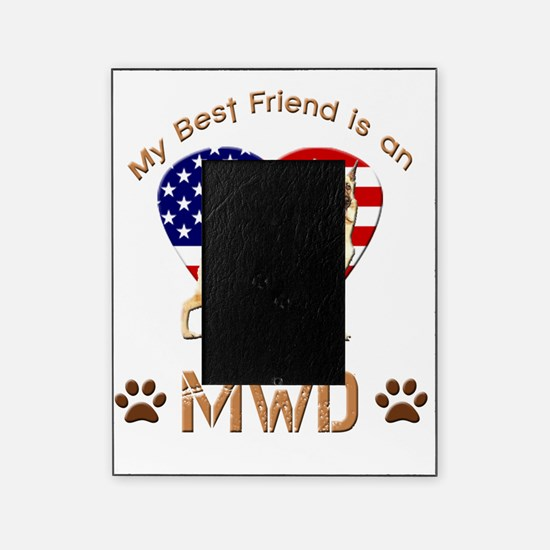 Military Working Dog Picture Frames   Military Working Dog Photo ...