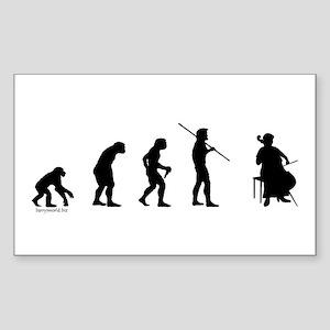 Cello Evolution Sticker