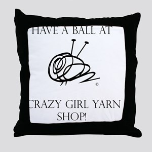 Have A Ball Sweatshirt Hooded Throw Pillow