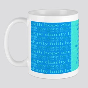 Faith Hope Charity Mug