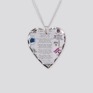 Police Officer Wife Necklace Heart Charm