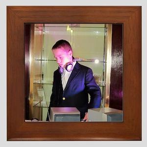 DJ A Framed Tile