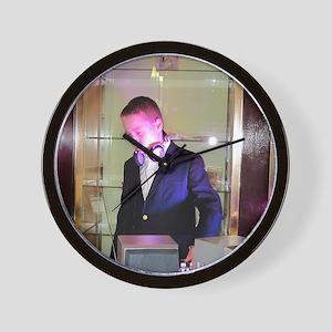 DJ A Wall Clock