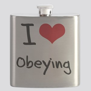 I Love Obeying Flask