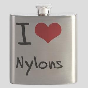 I Love Nylons Flask