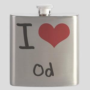 I Love Od Flask