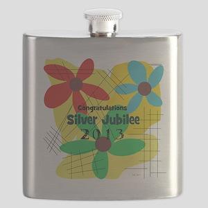 Silver Jubilee CP Flask