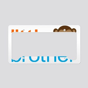 Monkey Little Brother License Plate Holder