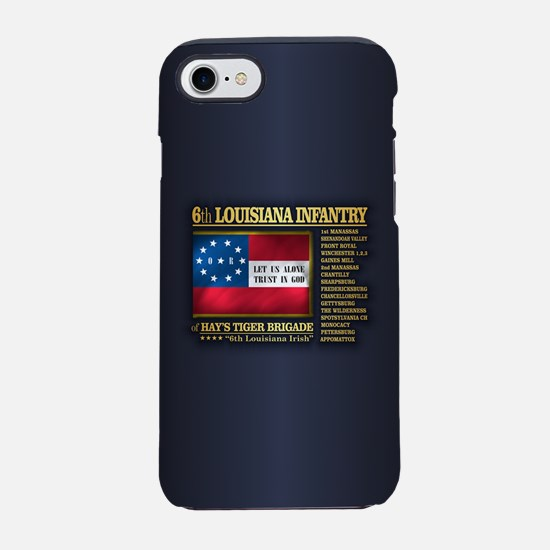 6th Louisiana Infantry (BH2) iPhone 7 Tough Case