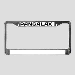 Pangalax License Plate Frame