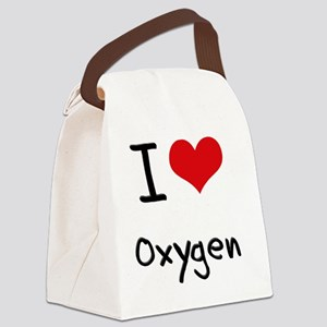 I Love Oxygen Canvas Lunch Bag