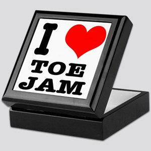 I Heart (Love) Toe Jam Keepsake Box