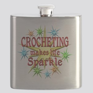 Crocheting Sparkles Flask