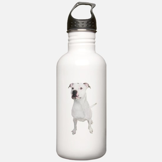 Cute American staffordshire terrier Water Bottle