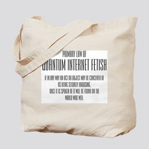 Quantum Internet Fetish Tote Bag