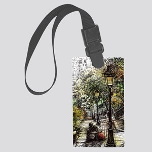 Montmartre 2 Large Luggage Tag