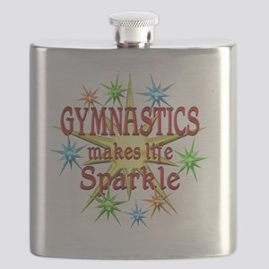 Gymnastics Sparkles Flask