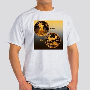 American Eagle Gold Proof 50 Dollar  Light T-Shirt